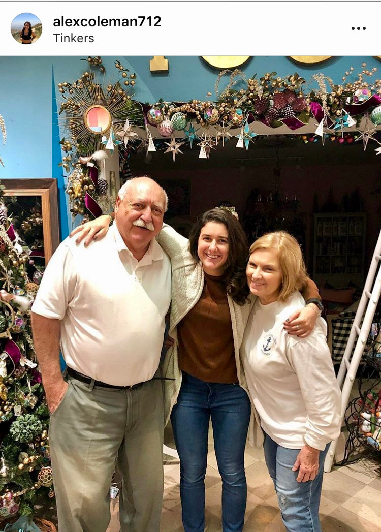 Alex Coleman and owners, Tony and Sharon Coleman