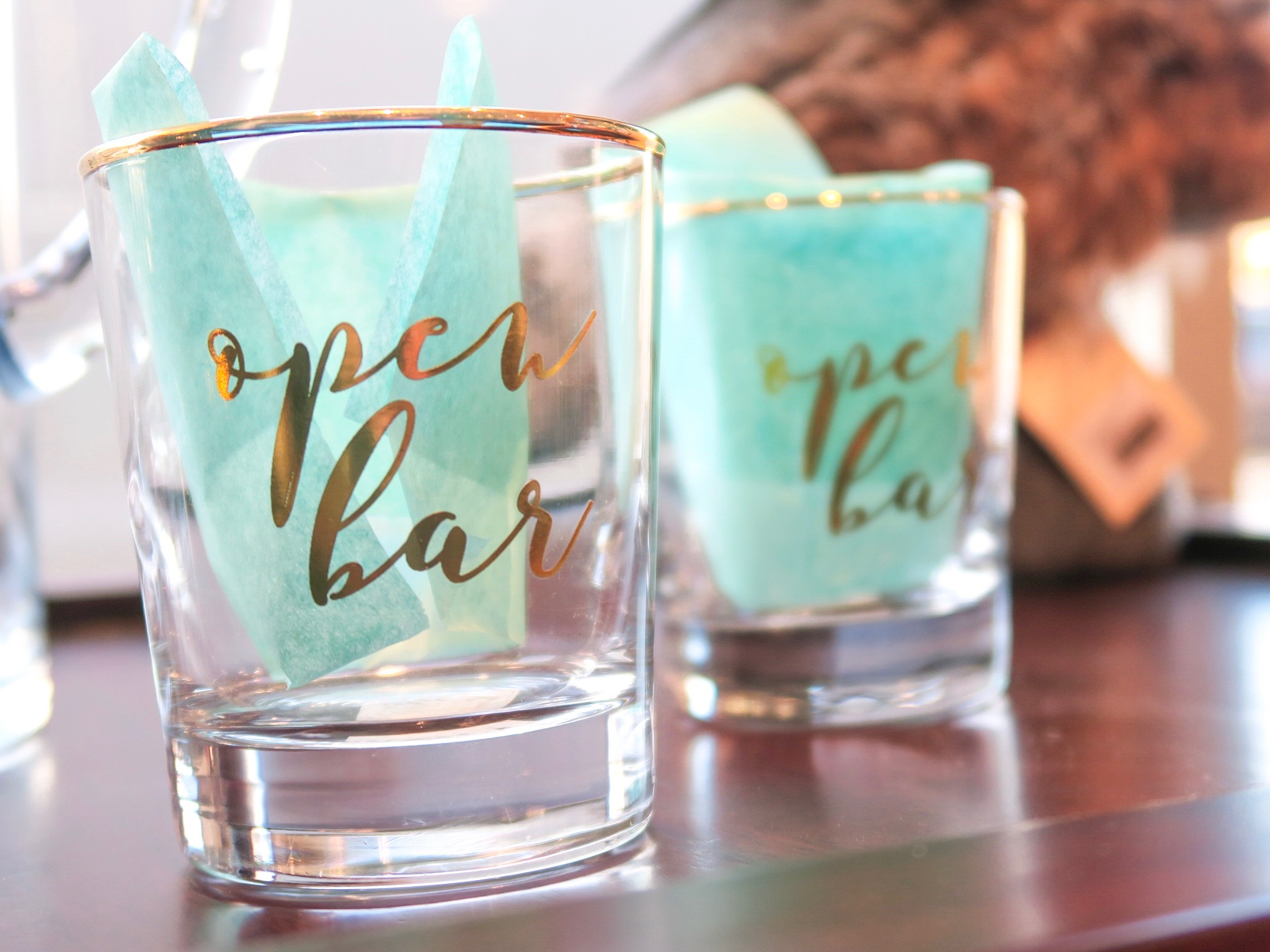 Cute bar glasses
