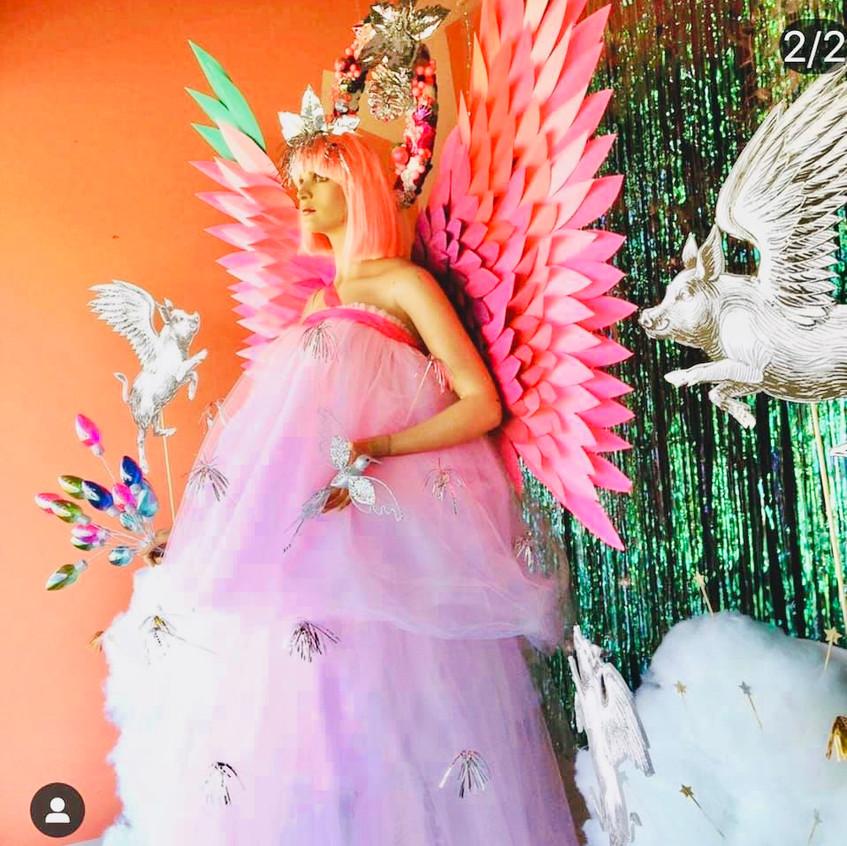 Angel displays