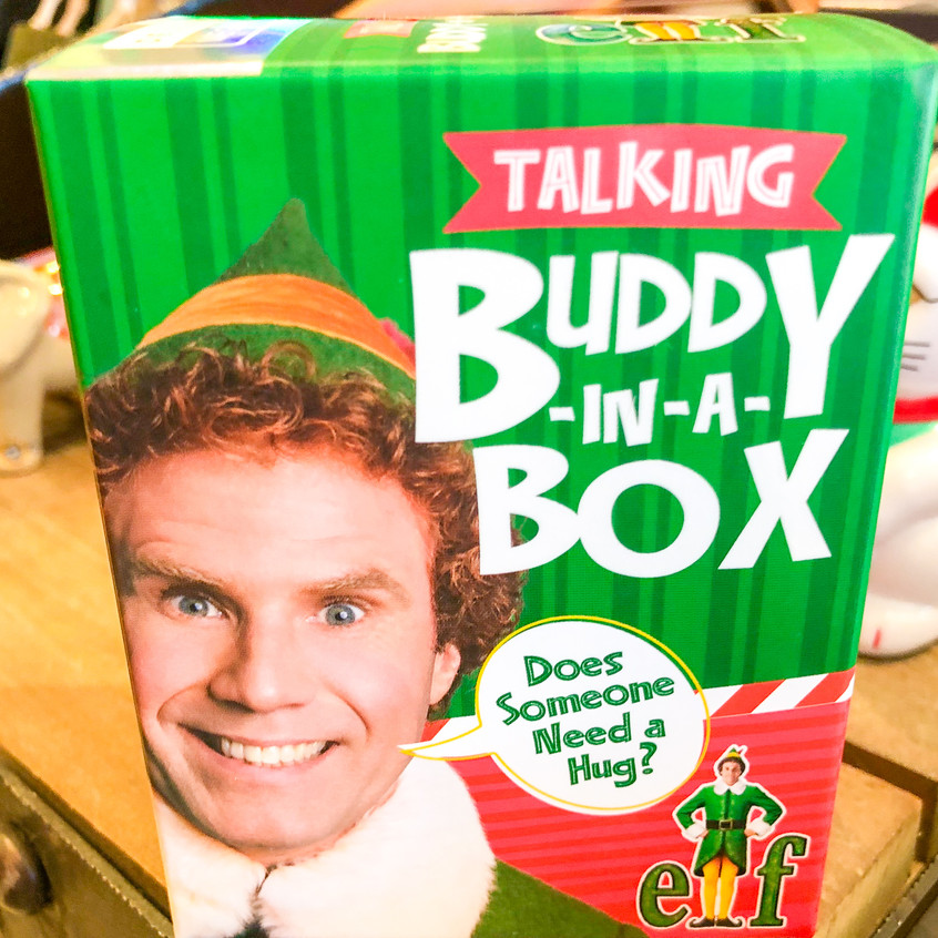 Talking Buddy in a box from ELF