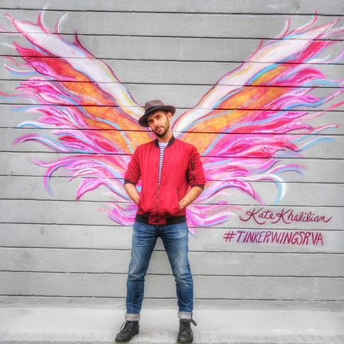 Our graphic designer, Joshua Coleman