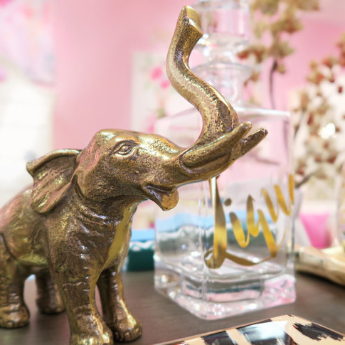 Gold Elephants and Bar Items
