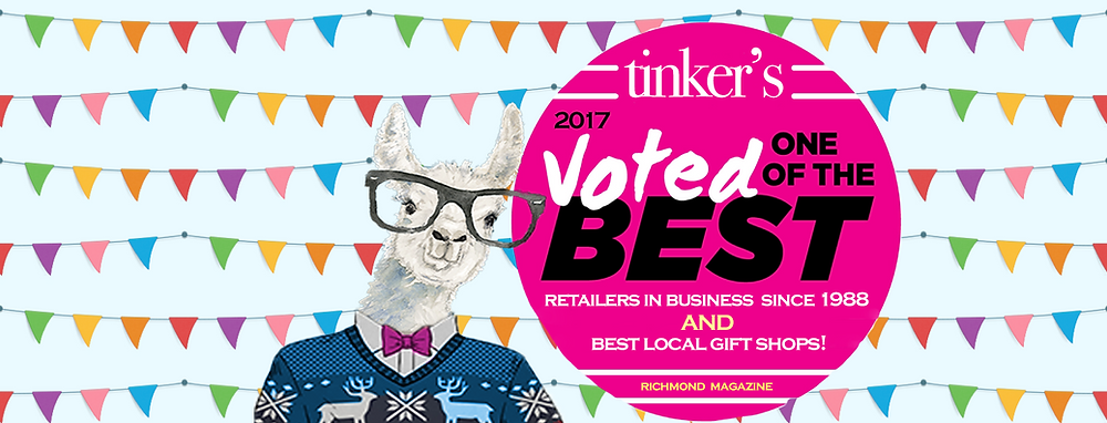 2017 RICHMOND MAGAZINE BEST AND WORST AWARDS: TINKER'S