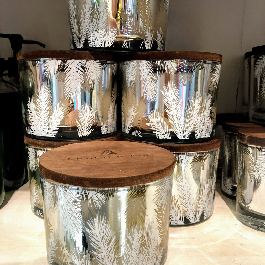 Holiday Thymes Collection Candles