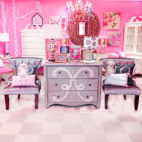Our Signature Pink Room