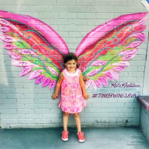 Bella, The first angel to pose