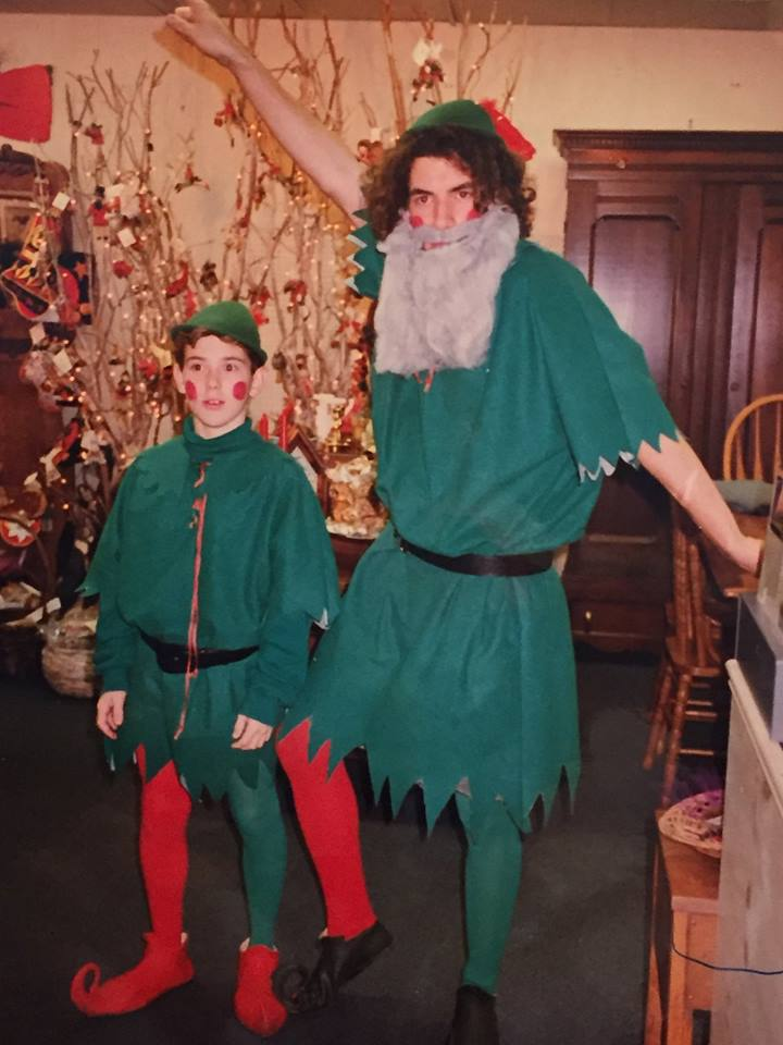 Christmas Elves (sons) at Tinker's