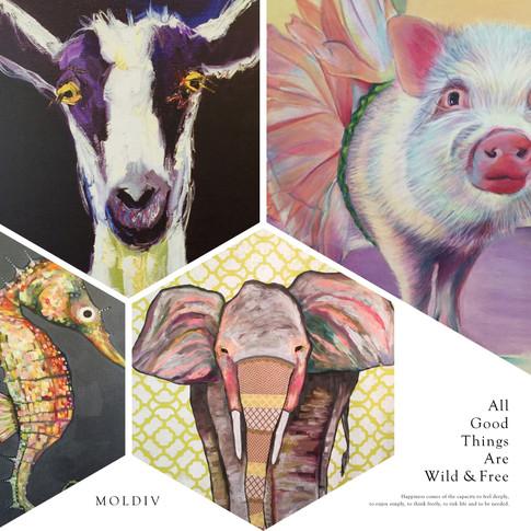 Farm Animal Art
