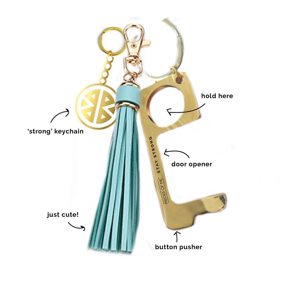 Pieces of Me key ring details