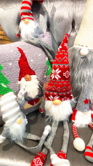 red and green gnomes are a big gift item   every year