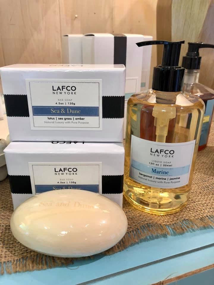 LAFCO Soap products