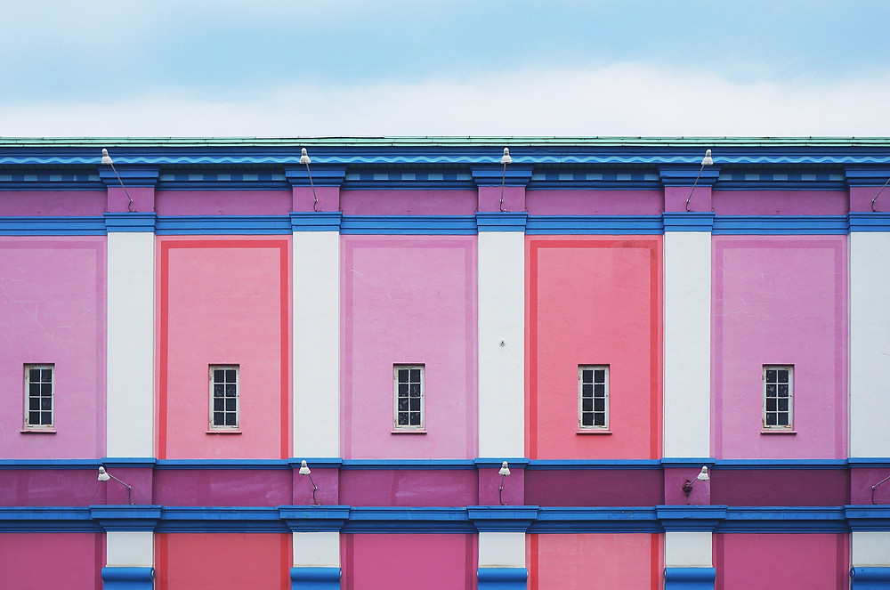 Pink Building Galore