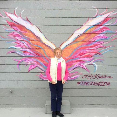 An Angel in Pink