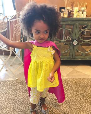 Big sister capes for superheroes