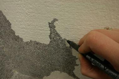 Circles, A Wall Drawing