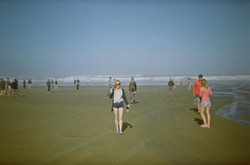 Lizzy on 90 Mile Beach