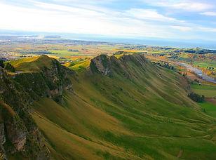 Te Mata Peak scenic flight