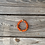 Thumbnail: Orange passion glass fruit colored stylish bracelet