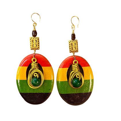 Sensational  Wire Dangle Earrings