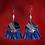 Thumbnail: Midnight Denim Statement Style Fashion Earrings