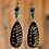 Thumbnail: Tribal  Twisted  Wood Style Fashion Earrings