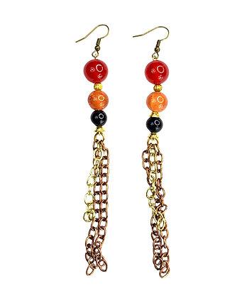 Chain Gain Beaded Earrings