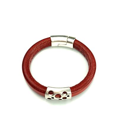 Regale style fashion leather bracelet