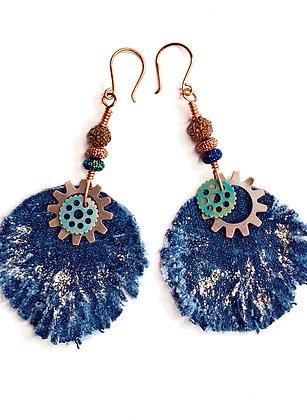 Majestic Blue Earrings