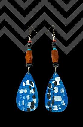 Wooden Triple Blue Vibe1