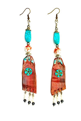 Paradise Water Beaded Earrings