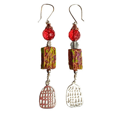 Grand Canyon Caged Earrings