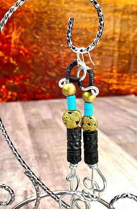 Tribal 2 Walk In African Earrings