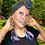Thumbnail: Over Time Boho Denim Fringe Earrings
