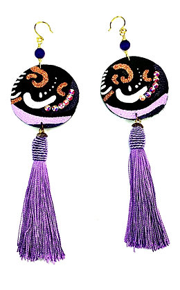 Grape Sassy Earrings