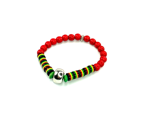 Listen to me right now- island vibe slip on bracelet