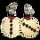 Thumbnail: Boho Delight Smoke Handmade Dangle Earrings