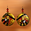 Thumbnail: One Time Statement Lady Fashion Dangle Wood Earrings