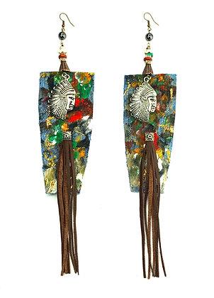 Indian Chan Boho Earrings