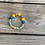 Thumbnail: Feel good Sunday morning yellow blue slip on fashion bracelet