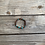 Thumbnail: Tribal feel turquoise and brown slip on bracelet