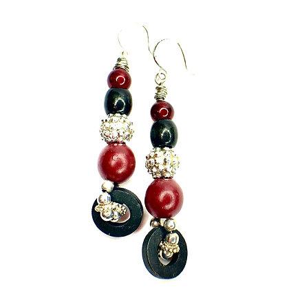 Bead Jazz Dancing Earrings