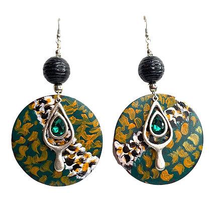Jeweled World Earrings