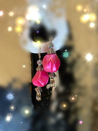 Pink Treasure Earrings