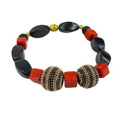Statement ready boho style slip on bracelet
