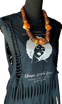 Hip Loopty Gal Distressed Tee
