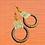 Thumbnail: Language Spoken Hoop earrings