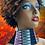 Thumbnail: Black Licorice Beaded Earrings