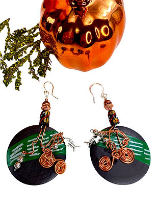 Tunnel Vision Charmed Earrings