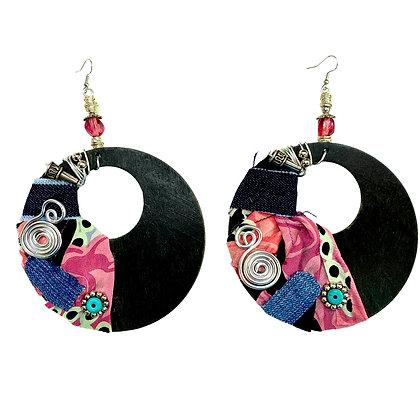 Chosen One Scarf Boho Earrings