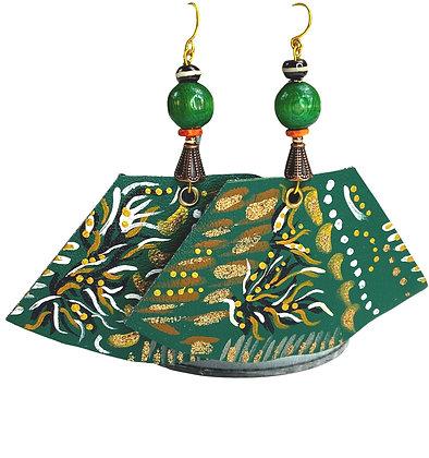 Grace Green Earrings